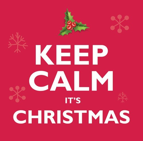 Keep Calm It's Christmas CD (CD-Audio)