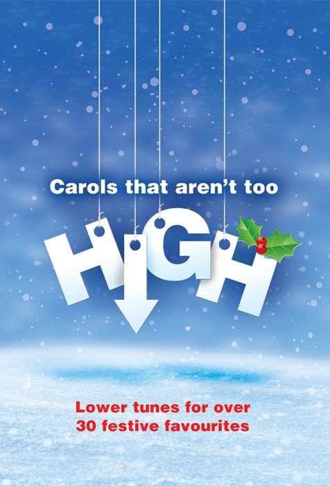 Carols That Aren't Too High CD (CD-Audio)