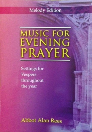 Music For Evening Prayer Melody Edition (Paperback)