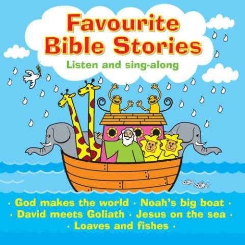 Favourite Bible Stories CD (CD-Audio)