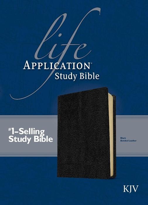 KJV Life Application Study Bible, Black (Bonded Leather)