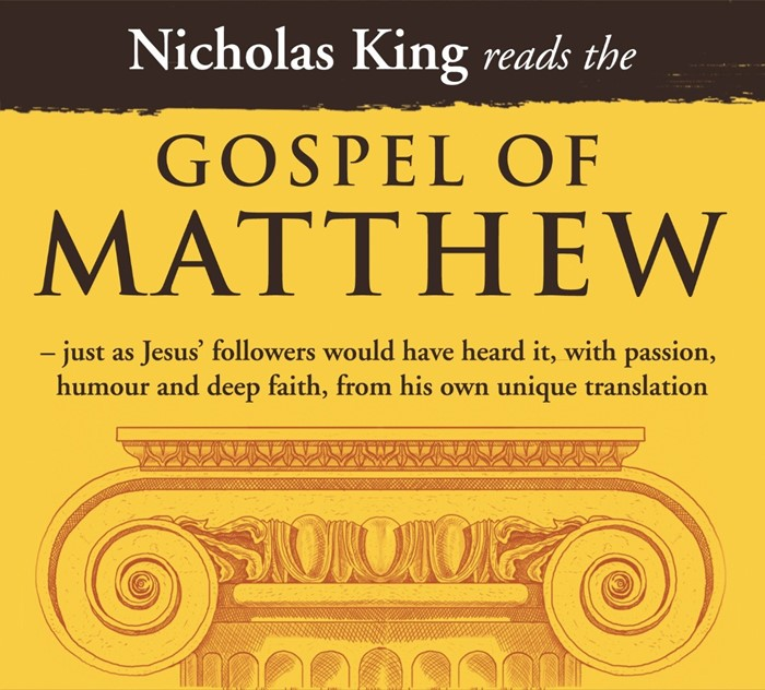 Nicholas King Reads The Gospel Of Matthew CD (CD-Audio)