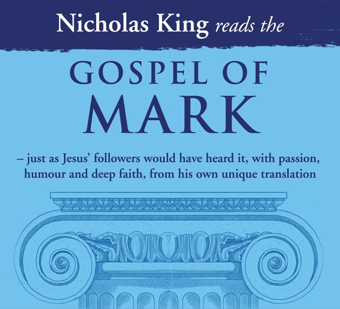 Nicholas King Reads The Gospel Of Mark CD (CD-Audio)