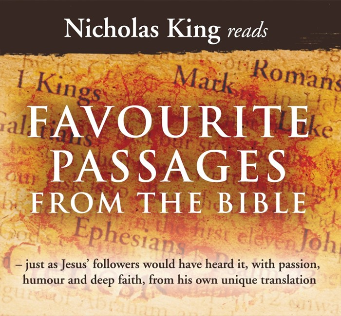 Nicholas King Reads Favourite Passages From The Bible CD (CD-Audio)