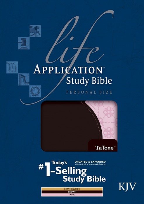 KJV Life Application Study Bible Personal Size Indexed (Imitation Leather)