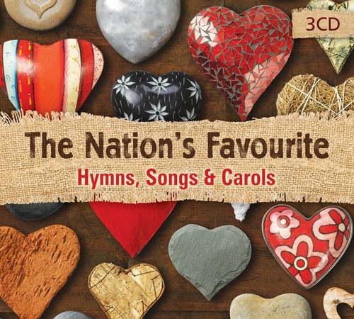 The Nation's Favourite Hymns, Songs And Carols CD (CD-Audio)