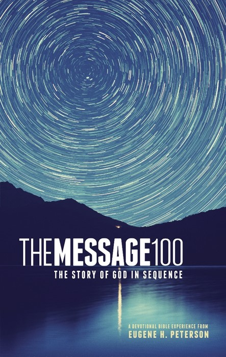 The Message 100 Devotional Bible (Hard Cover)