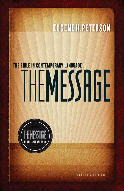 The Message 10th Anniversary Reader's Edition (Hard Cover)