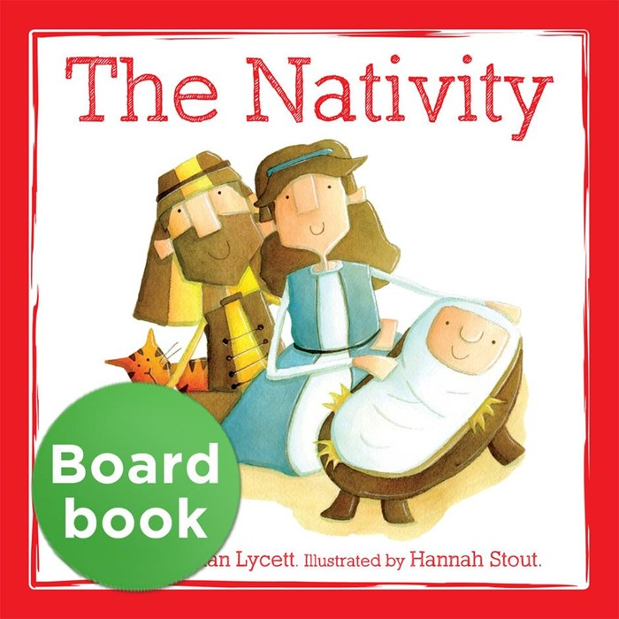 The Nativity Board Book (Board Book)