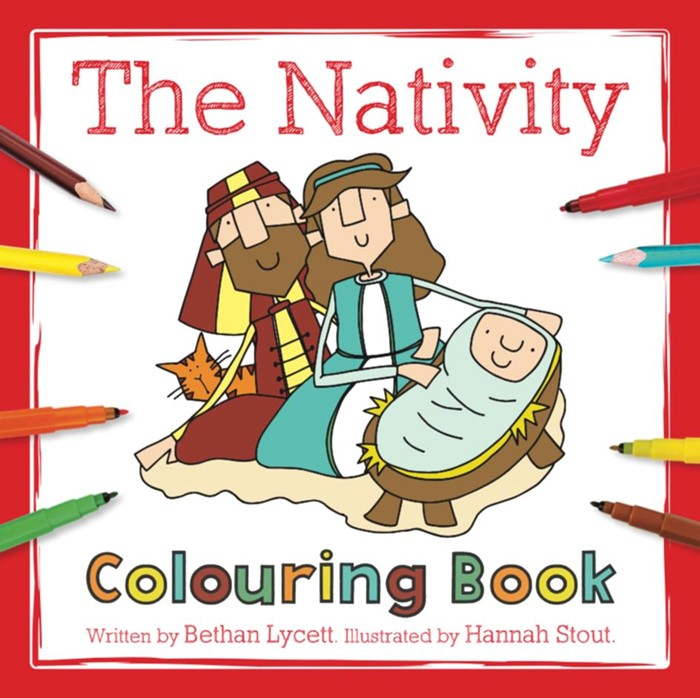 The Nativity Colouring Book (Paperback)