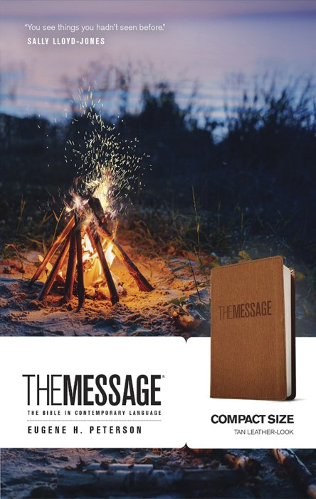 The Message Compact Edition (Leather Binding)