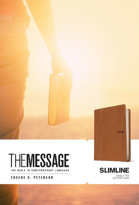The Message Slimline Edition (Leather Binding)