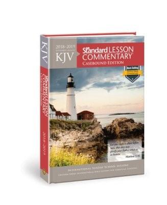 KJV Standard Lesson Commentary, Casebound Ed. 2018-2019 (Hard Cover)