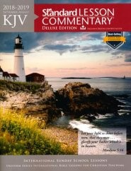 KJV Standard Lesson Commentary Large Print Ed. 2018-2019 (Paperback)