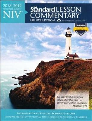 NIV Standard Lesson Commentary Deluxe Ed. 2018-2019 (Paperback)