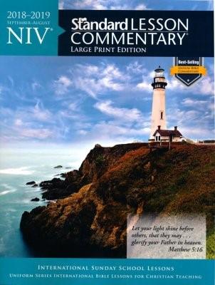 NIV Standard Lesson Commentary Large Print Ed. 2018-2019 (Paperback)