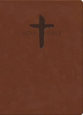 KJV Sword Study Bible, Giant Print, Chestnut (Imitation Leather)