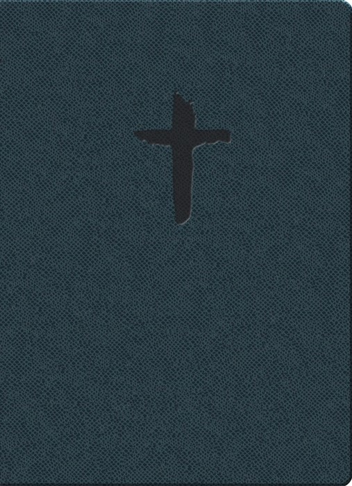 KJVER Gift & Award Thinline Bible, Personal Size, Blue (Imitation Leather)