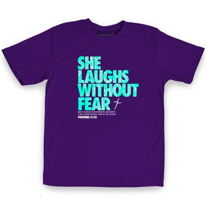She Laughs Kids Active T-Shirt, Medium (General Merchandise)