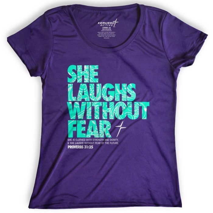 She Laughs Active T-Shirt, 2XLarge (General Merchandise)