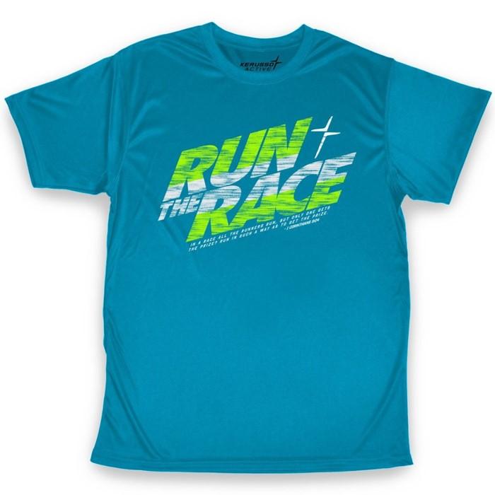 Run The Race Active T-Shirt, 2XLarge (General Merchandise)