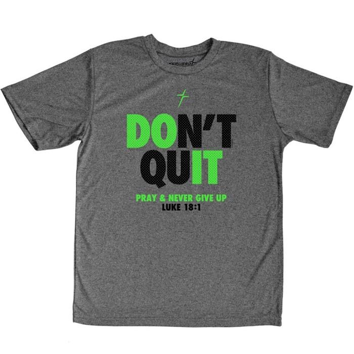 Don't Quit Kids Active T-Shirt, Medium (General Merchandise)