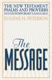 The Message New Testament With Psalms And Proverbs (Paper Back)