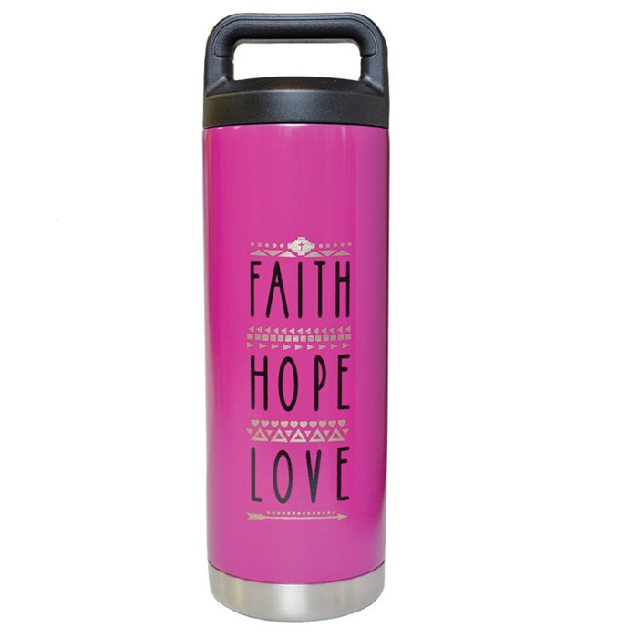 Faith ope Love Stainless Steel Bottle (General Merchandise)