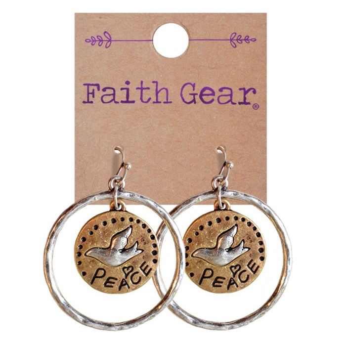 Faith Gear Women's Earrings - Peace (General Merchandise)
