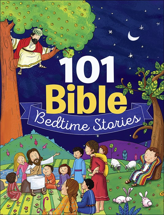 101 Bible Bedtime Stories (Hard Cover)
