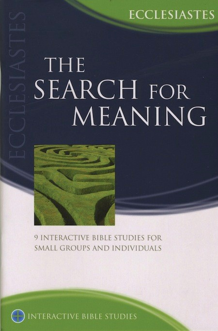 IBS The Search For Meaning: Ecclesiastes (Paperback)