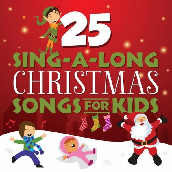 25 Sing-A-Long Christmas Songs For Kids CD (CD-Audio)
