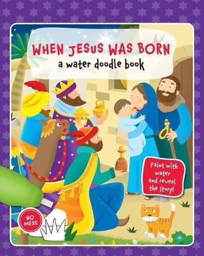 Water Doodle: When Jesus Was Born (Spiral Bound)