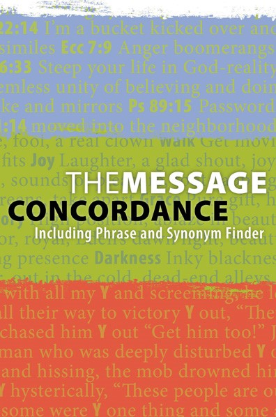 The Message Concordance (Paper Back)