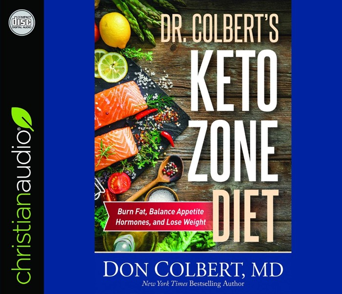 Dr. Colbert's Keto Zone Diet Audio Book (CD-Audio)