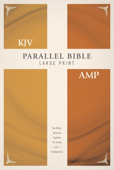 KJV Amplified Parallel Bible, Large Print, Red Letter Ed. (Hard Cover)