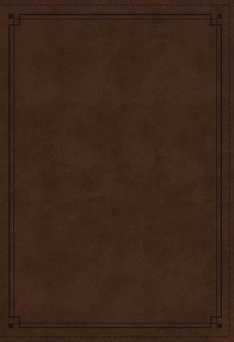 NKJV Study Bible, Brown, Red Letter Edition, Indexed (Imitation Leather)