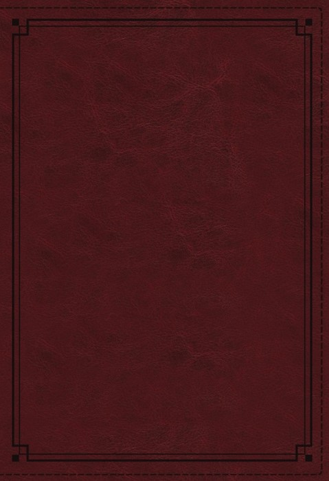 NKJV Study Bible, Red, Comfort Print, Red Letter Ed, Indexed (Imitation Leather)