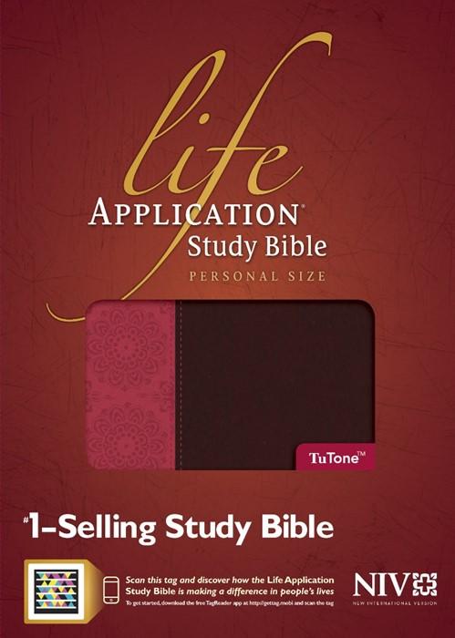 NIV Life Application Study Bible, Personal Size Tutone (Imitation Leather)