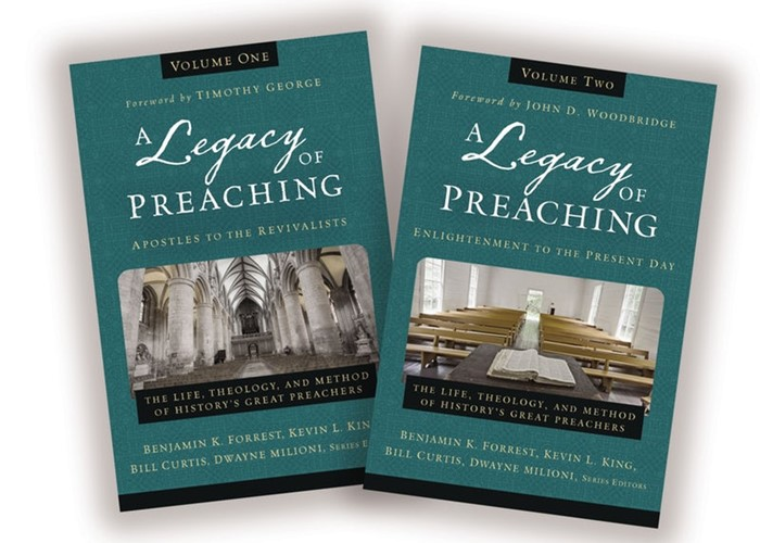 Legacy Of Preaching Two Vol. Set, A: Apostles - Present Day (Hard Cover)
