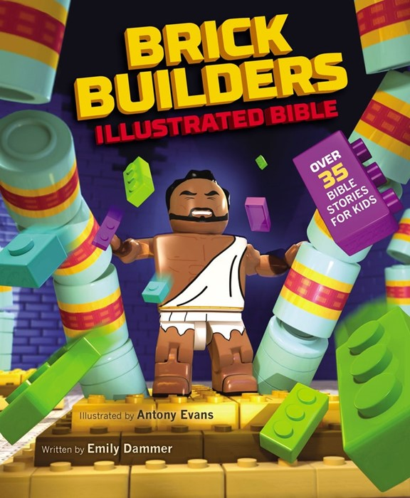 Brick Builder's Illustrated Bible (Hard Cover)