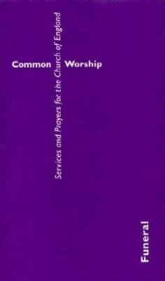 Common Worship Funeral Booklet,  Large Print (Paperback)