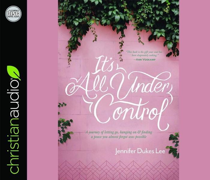 It's All Under Control Audio Book (CD-Audio)