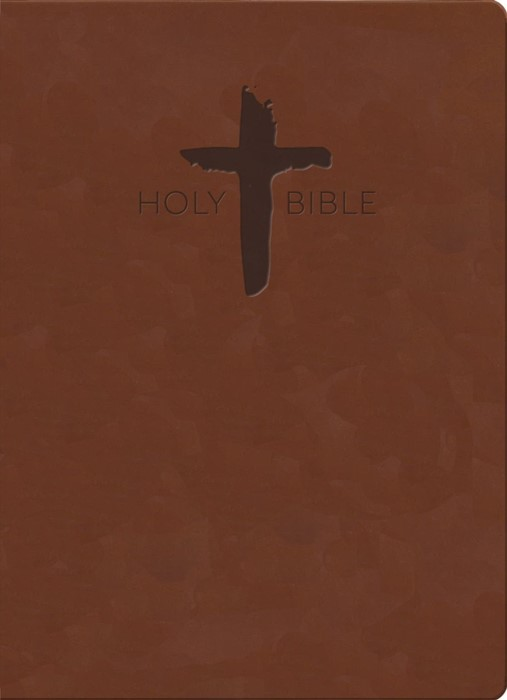 KJVER Sword Study Bible Value Edition, Giant Print, Chestnut (Imitation Leather)