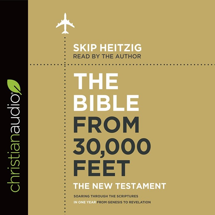 The Bible From 30,000 Feet New Testament Audio Book (CD-Audio)