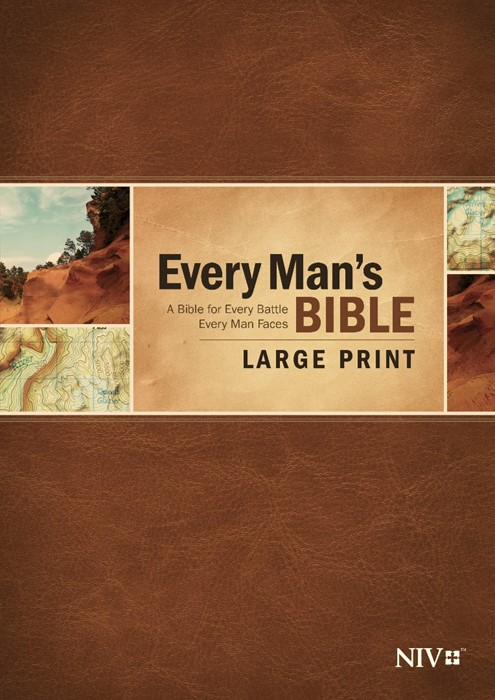 NIV Every Man's Bible Large Print (Hard Cover)
