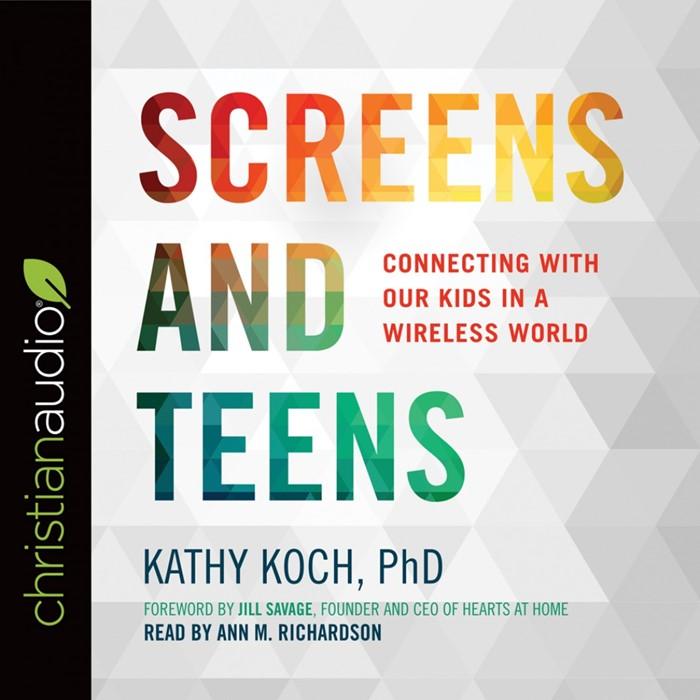Screens And Teens Audio Book (CD-Audio)