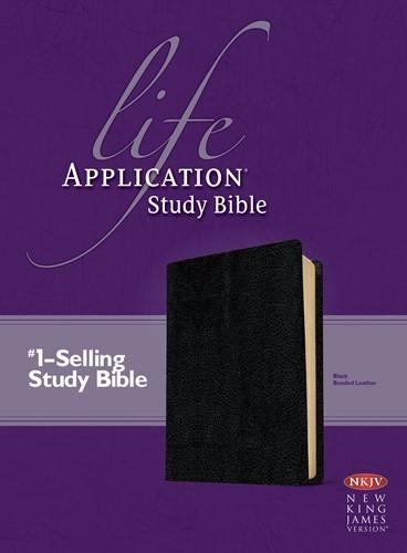 NKJV Life Application Study Bible (Leather Binding)