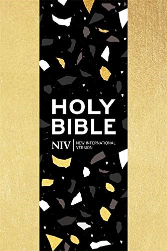 NIV Pocket Soft-tone Bible, Gold (Paperback)