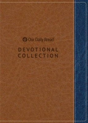 Our Daily Bread 2019 Devotional Collection, Brown/Blue (Imitation Leather)